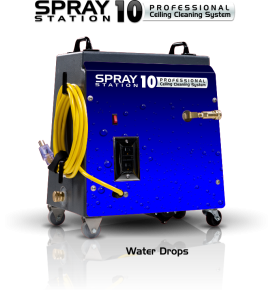 Ceiling Cleaning Equipment and Machines - SCS Spray Station 10 Water Drops Model 100110
