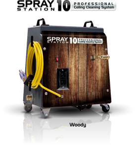 Ceiling Cleaning Equipment and Machines - SCS Spray Station 10 Woody Model 100111