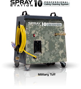 Ceiling Cleaning Equipment and Machines - SCS Spray Station 10 Military Tuff Model 100114