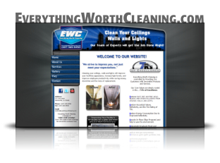Website Design and Hosting for Everything Worth Cleaning